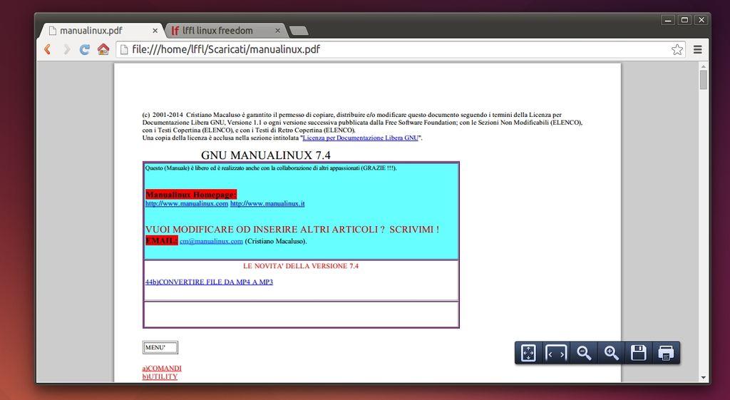 Google Chrome: il reader di PDF