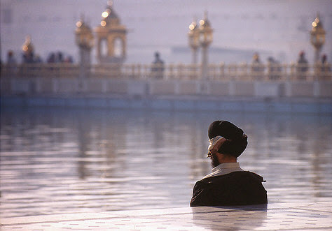 Silent Prayer / Amritsar, India