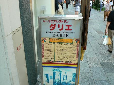 Restaurant romanesc Japonia: Restaurant Darie Tokyo