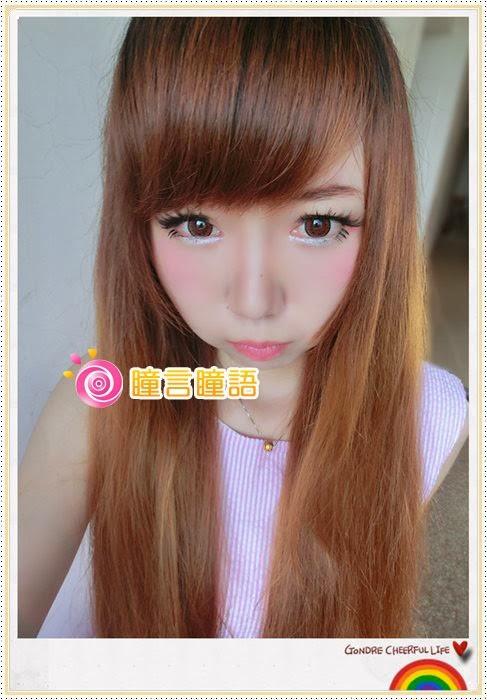 韓國NEO隱形眼鏡-Dali Heart心語棕18