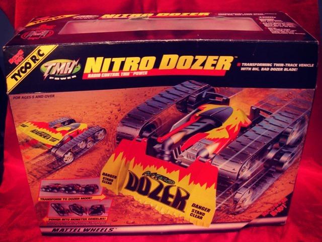Nitro Dozer Remote Control Car Front Side