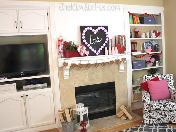 Valentines family room
