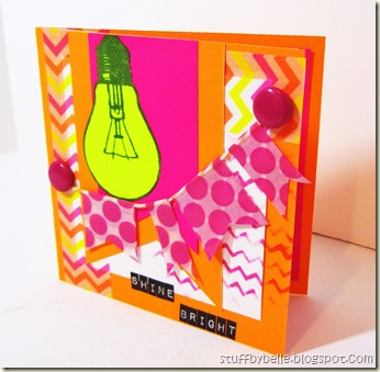 Neon card