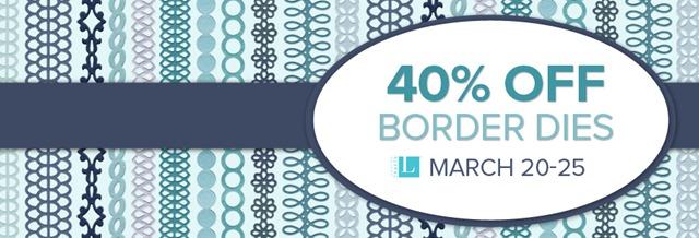 40% off Borders