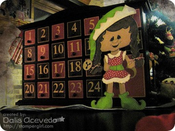 dalis elf girl advent calendar