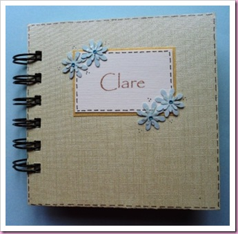 Bind It All Old New Borrowed and Blue Wedding Book