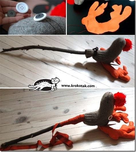 como-hacer-juguete-reciclado-navidad-reno-palo