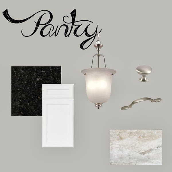 Pantry Design Board
