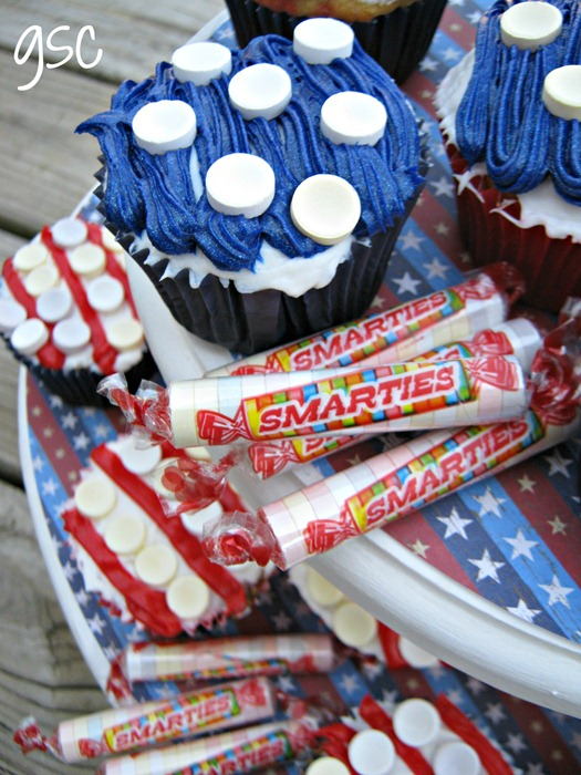 4th of july smarties candy