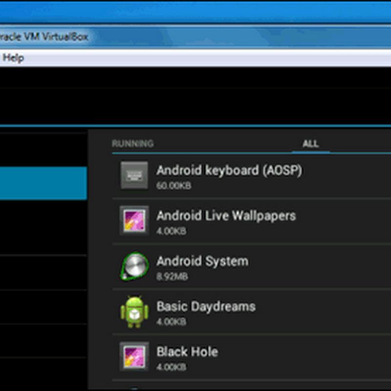 شرح تثبيت أندرويد علي محاكي VirtualBox متعدد المنصات