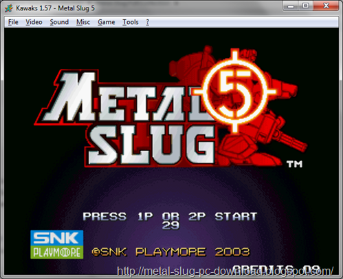 Free Download Metal Slug 5 PC Games