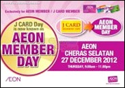 AEON Cheras Selatan Member Day Branded Shopping Save Money EverydayOnSales