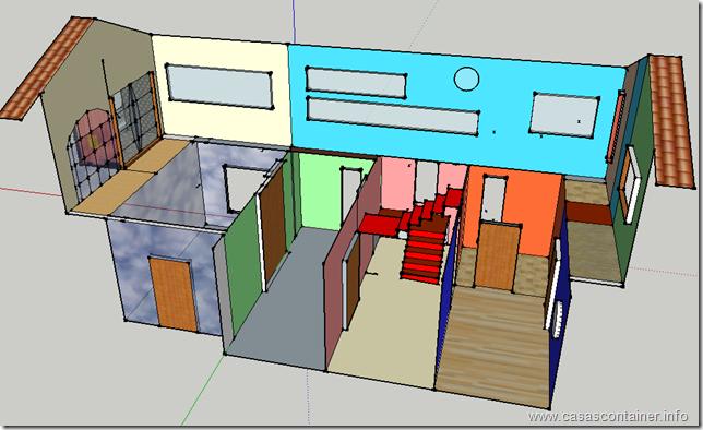 Casas container el interior de una casa container - Casa container espana ...