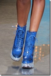 Betsey Johnson Spring 2012 boot ShoesNBooze