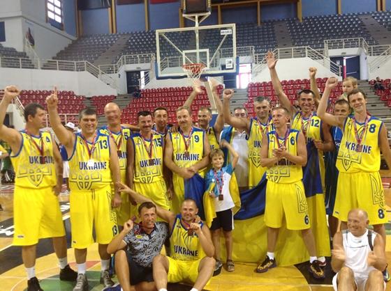 Чемпионат Мира по баскетболу среди ветеранов 2013
