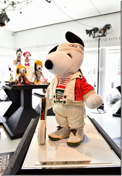 Peanuts X Metlife - Snoopy and Belle in Fashion Exhibition Presentation (Source - Slaven Vlasic - Getty Images North America) 22