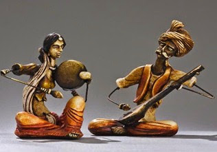 indian-figurines-banjara-musician-statues