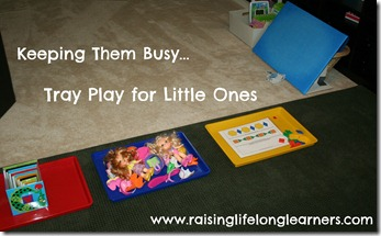 Tray Play