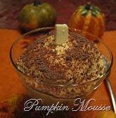 desserts-pumpkin mousse