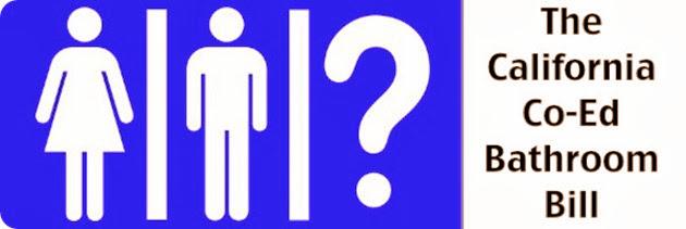 Ley de Baños unisex en las escuelas California co-ed badthroom law Peticion de privacidad para los niños