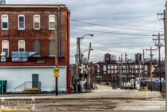 Broadway and Sidney Streets Railroads Train Tracks St. Louis MO