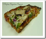 CAULIFLOWER CRUST VEGGIE PIZZA