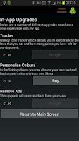 Screenshot of Weight Tracker Plus