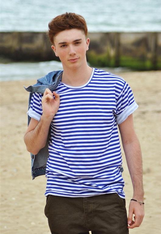 Vintage Nautical Stripe T-Shirt, £22, Jukebox