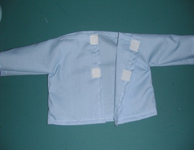 doll scrub shirt step 20
