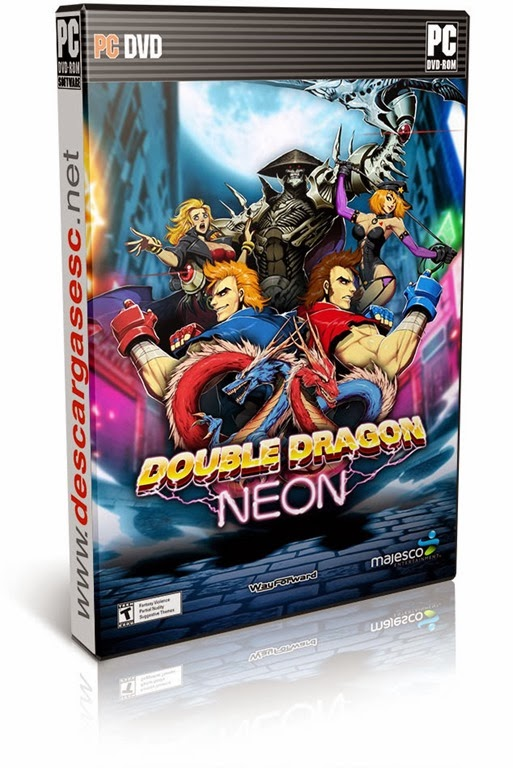 Double Dragon Neon-RELOADED -pc-cover-box-art-www.descargasesc.net