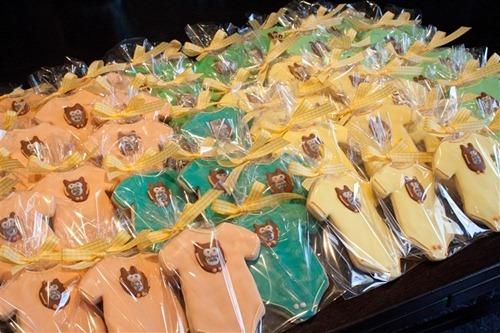 Onesies Baby Shower Cookies Berties Bakery