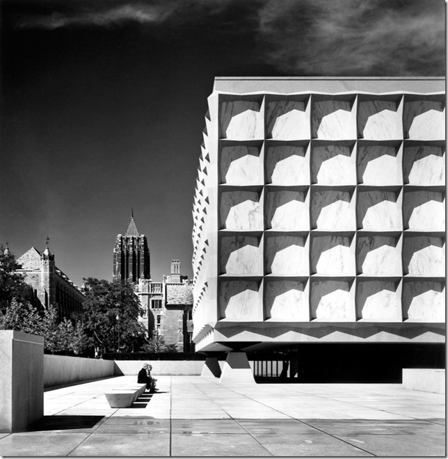 Ezra Stoller_Beinecke Rare Book and Manuscript Library