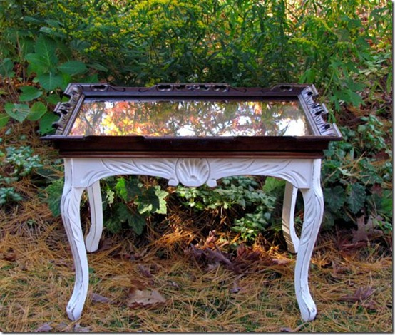 friday feature--table painted with chalk paint from wildwood creek blog