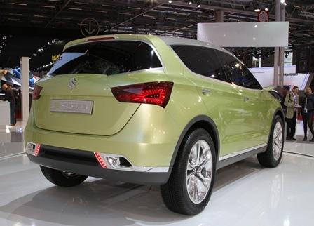 Suzuki S Cross Concept rear