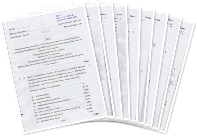 final question paper corporate finance Indian institute of banking & finance,  question paper pattern for the december 2005 examination and onwards:  such negative marks may affect the final.