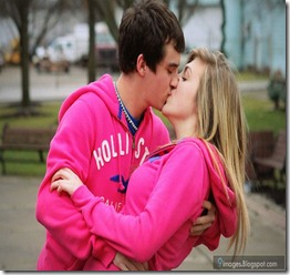 Kissing-couple-hug-cute-blonde-lovers-adorable-beautiful