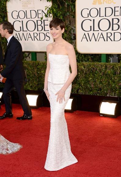 Anne Hathaway de Chanel