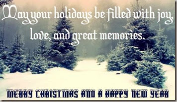 holidays be filled-joy love memories