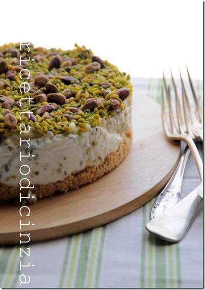 cheesecake ai pistacchi