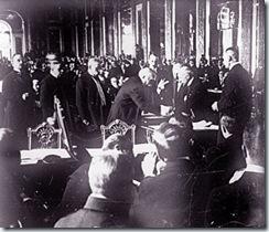 0628 signature du traité de Versailles