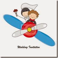 dibujos divertidos coches avioneta de boda (11)