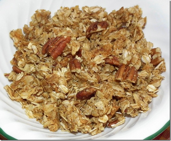 Granola w/Uncle Sam Wheat Flakes 12-5-11