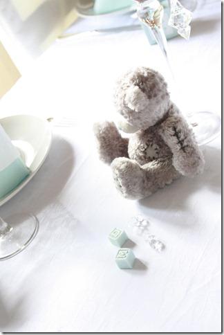 barnedåp inspirasjon baby gutt blå borddekking blomster IMG_2510