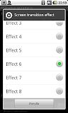 ADW Launcher EX menù effetti grafici