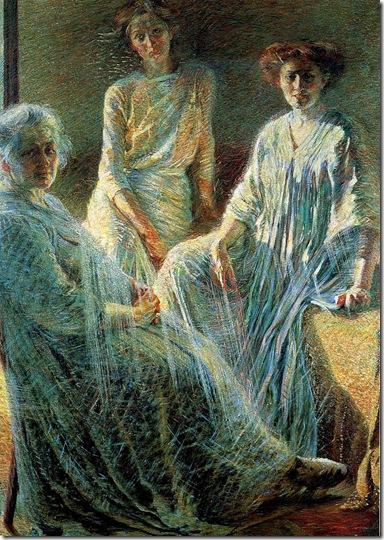 Umberto Boccioni -tres mujeres (1909-1910)