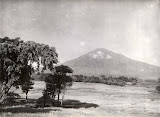 View of Ciremai volcano from near Linggarjati (Georg Friedrich Johannes Bley, 1920-1933) Courtesy TropenMuseum Archives