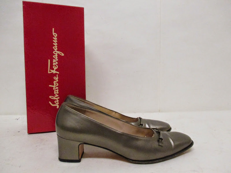 Salvatore Ferragamo Patent Leather Heels