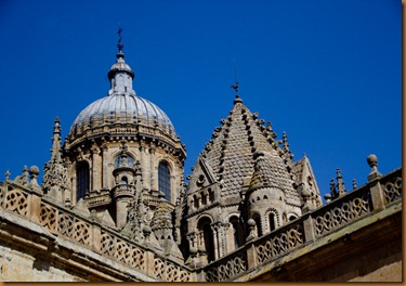 Salamanca  old cathedral dome and lantern