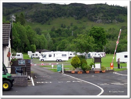 Gypsy Rover at Maragowan camp site, Killin.