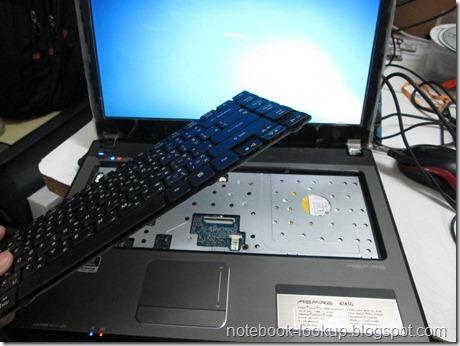 บันทึกช่าง Acer Aspire 4741G เสียงดังเพราะ Keyboard เสีย